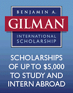 Gilman International Scholarship