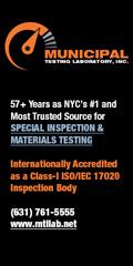 Municipal Testing Laboratory Inc. | ATT: JOHN HICKS
