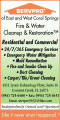 SERVPRO of E. Coral Springs