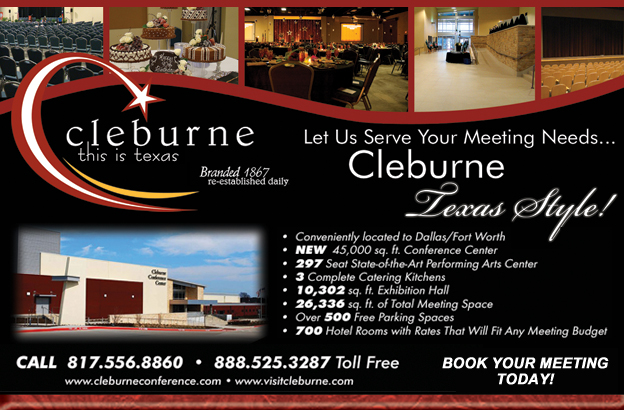 Cleburne Chamber of Commerce CVB